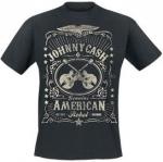 Cash, Johnny: American Rebel T-paita musta