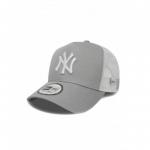 New Era - NY Yankees Essential valkoinen/harmaa Trucker Snapback