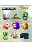 Minecraft Squishme 6 cm Series 1 Stressilelu, satunnainen