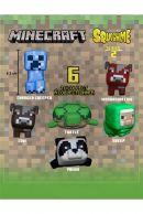 Minecraft Squishme 6 cm Series 2 Stressilelu, satunnainen