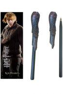 Harry Potter Ron Weasley Kynä & Kirjanmerkki