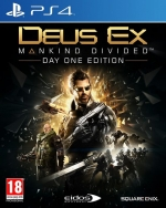 Deus Ex: Mankind Divided Day One Edition PS4 *käytetty*