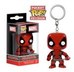 Pocket POP!: Marvel - Deadpool Bobble-Head Avaimenperä