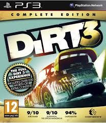 DIRT 3 Complete Edition PS3 *käytetty*