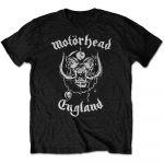 Motörhead: England T-paita musta