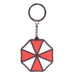 Resident Evil Umbrella Logo Metallinen Avaimenperä