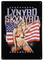 Lynyrd Skynyrd Girl with Flag Peltikyltti