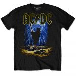 AC/DC Highway to Hell Clouds T-paita