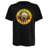 Guns N Roses: Logo T-Paita musta