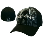 God of War Black Flex Front Full Print Lippis