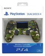 PlayStation Dualshock 4 Ohjain green camo PS4