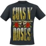 Guns n Roses: Big Guns & Blood T-paita musta