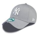 New Era - NY Yankees 9forty harmaa, säädettävä