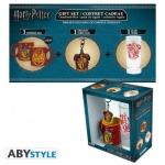 Harry Potter Gryffindor Lahjapakkaus, minimuki. avaimenperä & juomalasi