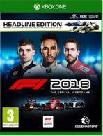 F1 2018 Xbox One *käytetty*