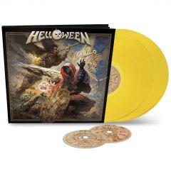 Helloween : Helloween Earbook Yellow 2-LP+2CD