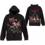 Iron Maiden Scuffed Trooper Vetoketjullinen Huppari