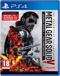 Metal Gear Solid The Definitive Experience PS4