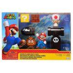 World of Nintendo Super Mario Acorn Plains Diorama 6cm Figuurit