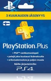 Playstation Plus: 3 kuukauden jäsenyys