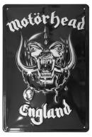 Motörhead England Peltikyltti 20x30cm