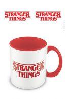 Stranger Things Logo Coloured Inner muki