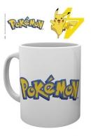 Pokemon Logo & Pikachu muki