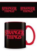 Stranger Things Logo muki