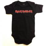 Iron Maiden Logo Baby Grow 12-18 kuukautiselle