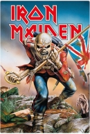 Iron Maiden Trooper Peltikyltti 20x30cm