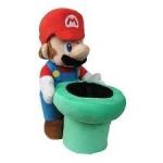 Nintendo Super Mario Mario Warp Pipe Pehmolelu 23 cm
