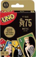 UNO Mattel 75th Anniversary pelikortit