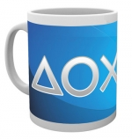 Playstation Silver Buttons muki