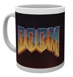 Doom Classic Logo muki