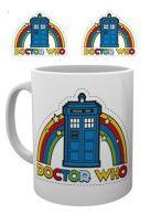 Doctor Who Rainbow muki
