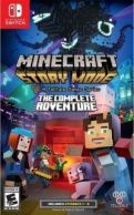 Minecraft - Story Mode - The Complete Adventure Nintendo Switch *käytetty*