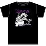 Misfits: Die Die My Darling T-paita musta X-LARGE