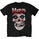 Misfits Blood Drip Skull T-paita