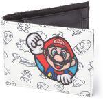 Nintendo Allover Print Super Mario Patch Lompakko