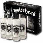 Motörhead Shottilasit 4kpl