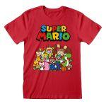 Super Mario Main Character Group T-paita