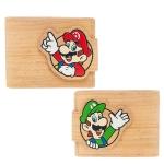 Nintendo - Mario & Luigi Lompakko puunvärinen