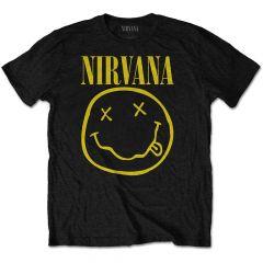 Nirvana Yellow Smiley T-paita