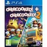 Overcooked + Overcooked 2 PS4 *käytetty*