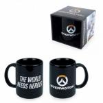 Overwatch Logo the World Needs Heroes muki