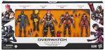 Overwatch Ultimates Genji + Zarya + Pharah + D.Va 15,5cm Figuurit