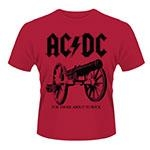 AC/DC: For Those About to Rock Lasten T-paita punainen