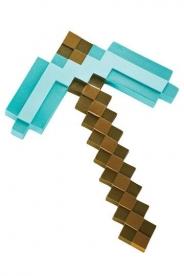 Minecraft Diamond Pickaxe 40cm Hakku