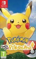 Pokemon: Lets Go, Pikachu Nintendo Switch *käytetty*