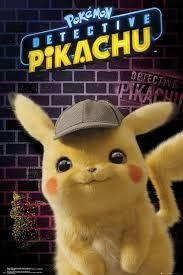 Detective Pikachu Teaser Juliste 61 x 91 cm